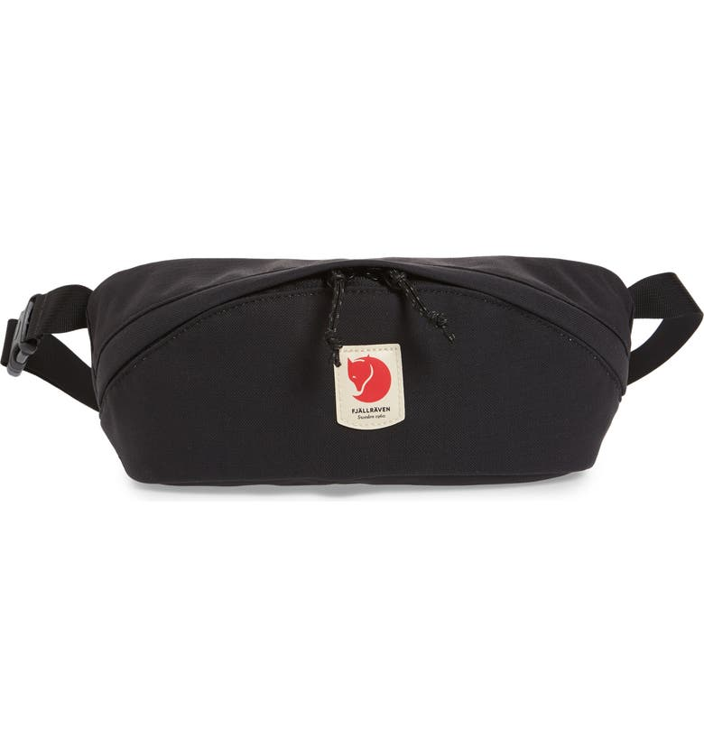 FJÄLLRÄVEN Belt Bag, Main, color, BLACK