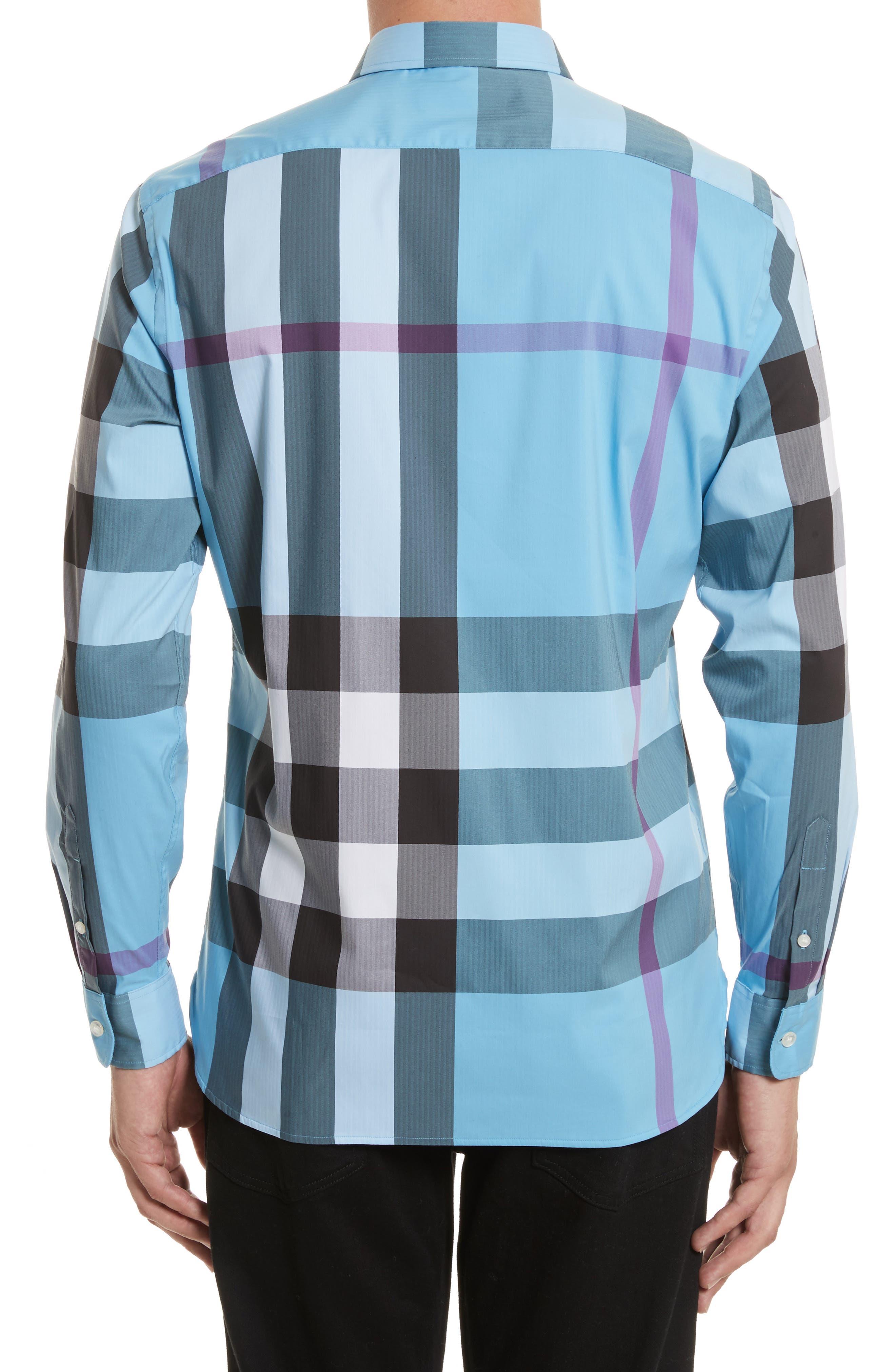 ,                             Thornaby Slim Fit Plaid Sport Shirt,                             Alternate thumbnail 31, color,                             439