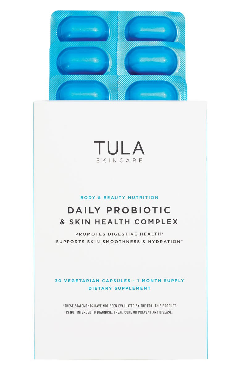 TULA SKINCARE Tula Probiotic Skincare Daily Probiotic + Skin Health Complex Dietary Supplement, Main, color, NO COLOR