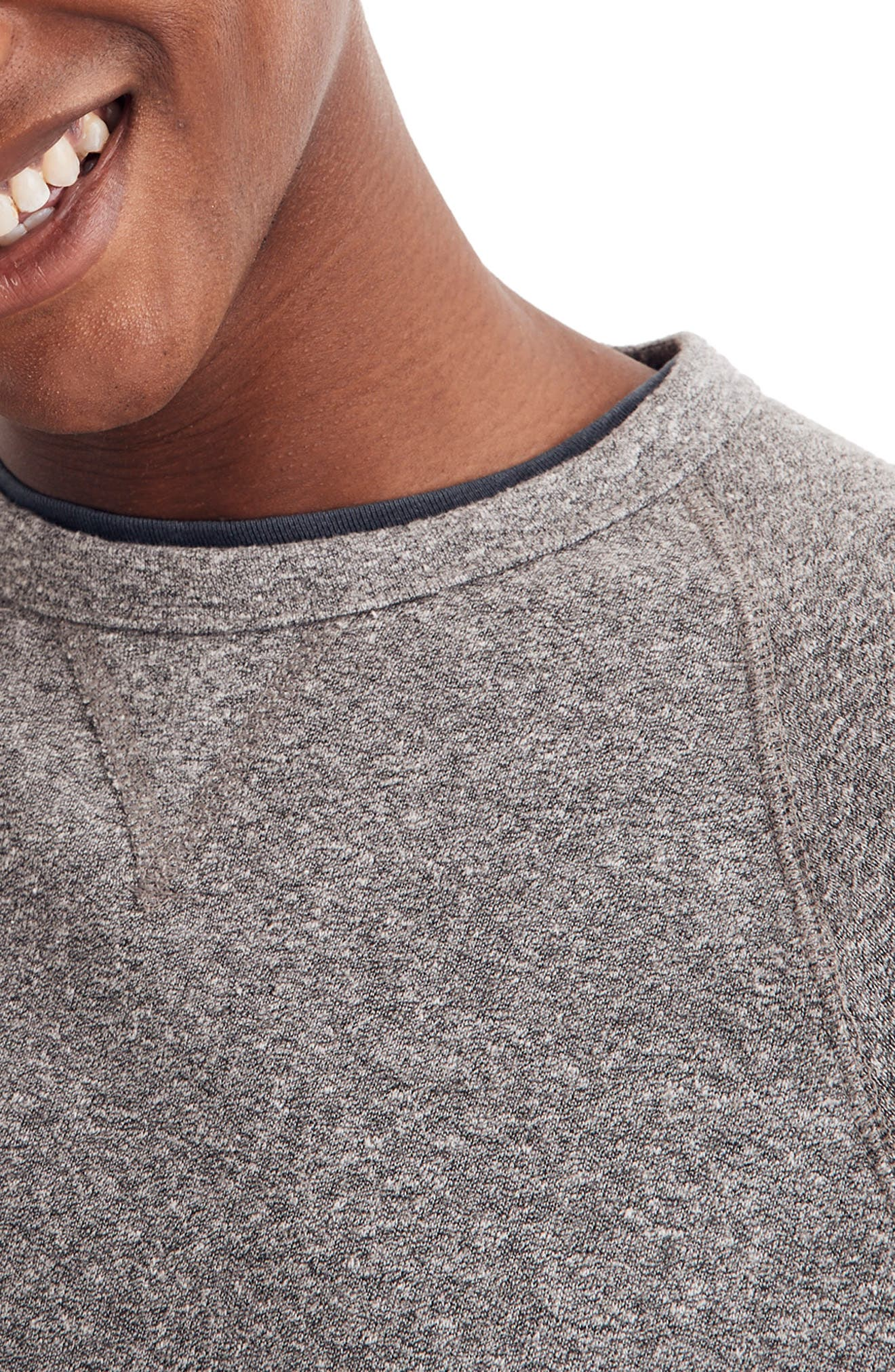 ,                             Crewneck Sweatshirt,                             Alternate thumbnail 4, color,                             GREY
