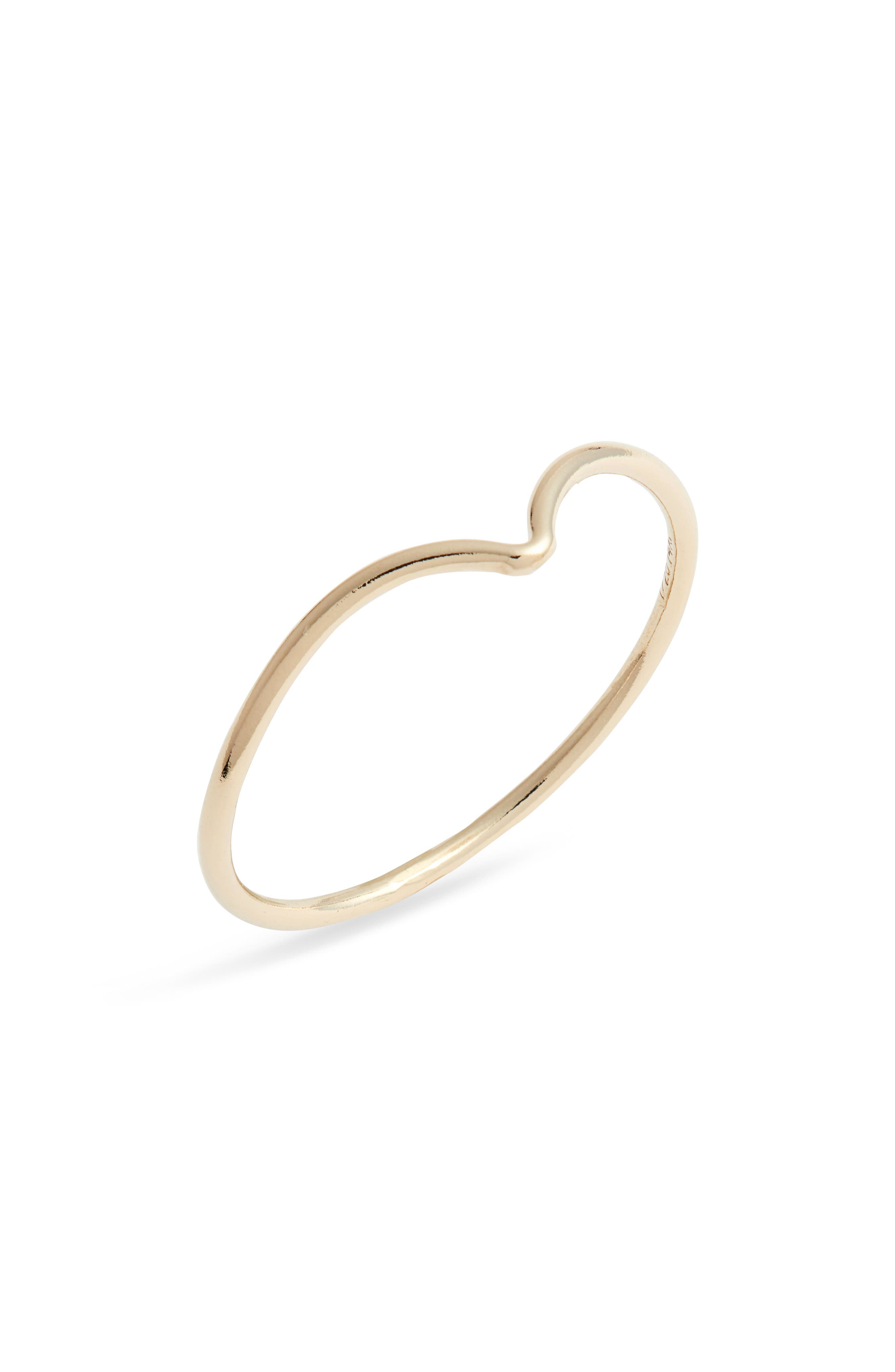 This delicate band features a gracefully bent design that\\\'s striking on its own and also nests well with other rings in your signature collection. Style Name: Set & Stones Chloe Ring. Style Number: 6057579. Available in stores.