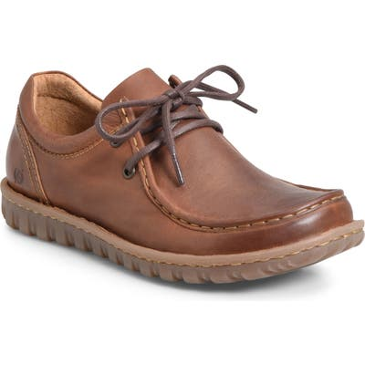 B?rn Gunnison Moc Toe Derby, Brown