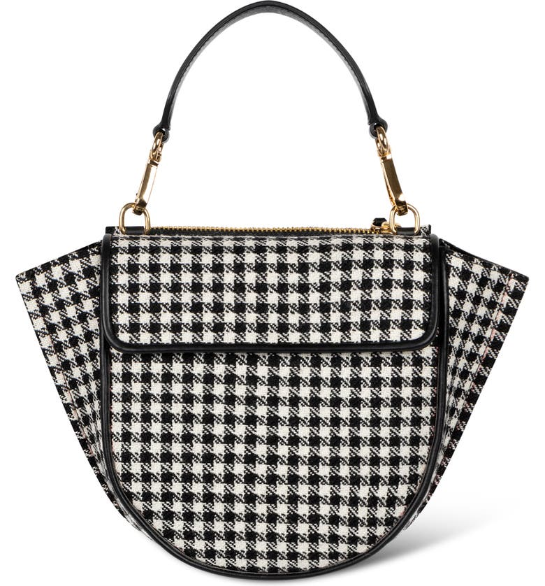 WANDLER Hortensia Mini Bag, Main, color, HOUNDSTOOTH