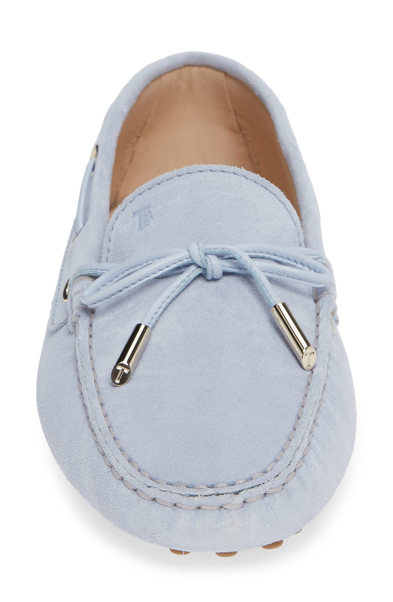 ,                             Gommini Driving Moccasin,                             Alternate thumbnail 4, color,                             LILAC