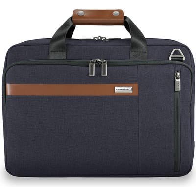 Briggs & Riley Kinzie Street Rfid Pocket Convertible Laptop Briefcase/backpack - Blue