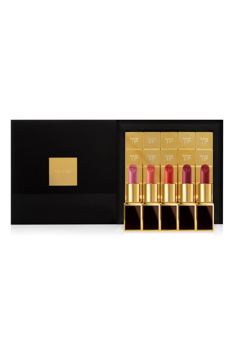 TOM FORD Boys & Girls Clutch Sized The 25 Boys Lip Color Set, Main, color, 000