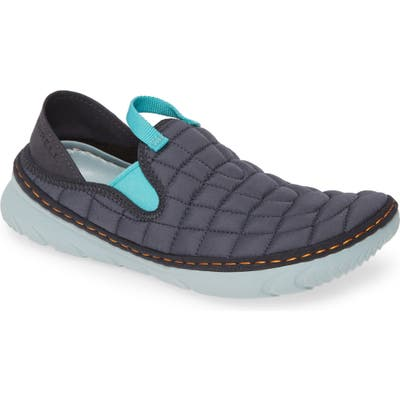Merrell Hut Quilted Moc Sneaker, Grey