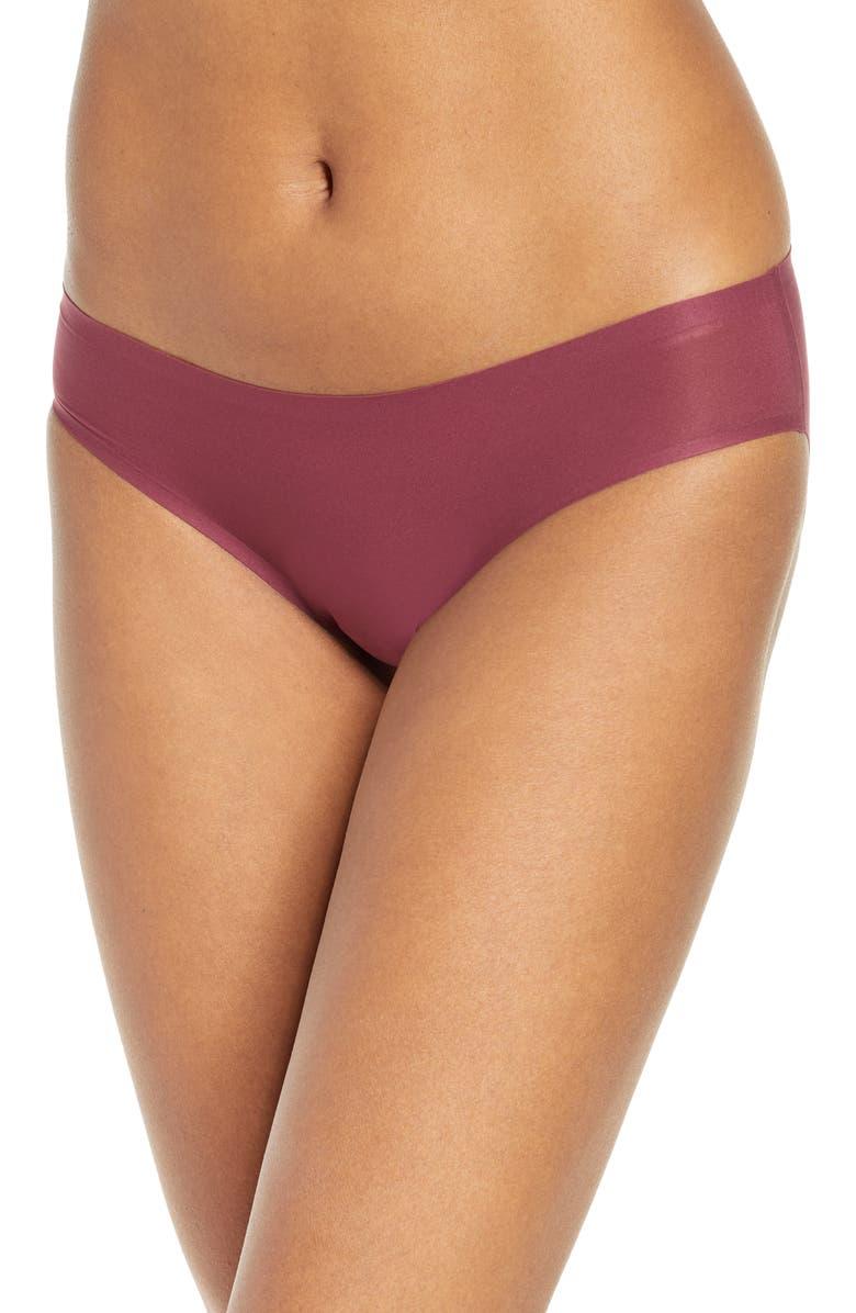 CHANTELLE LINGERIE Soft Stretch Seamless Bikini, Main, color, SIENNA
