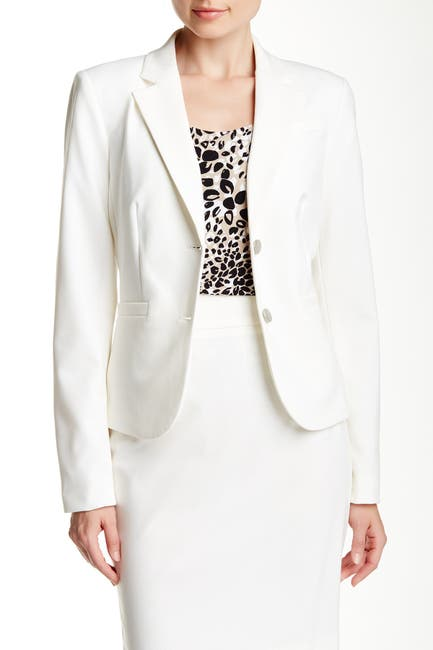 Image of Calvin Klein Two Button Short Jacket