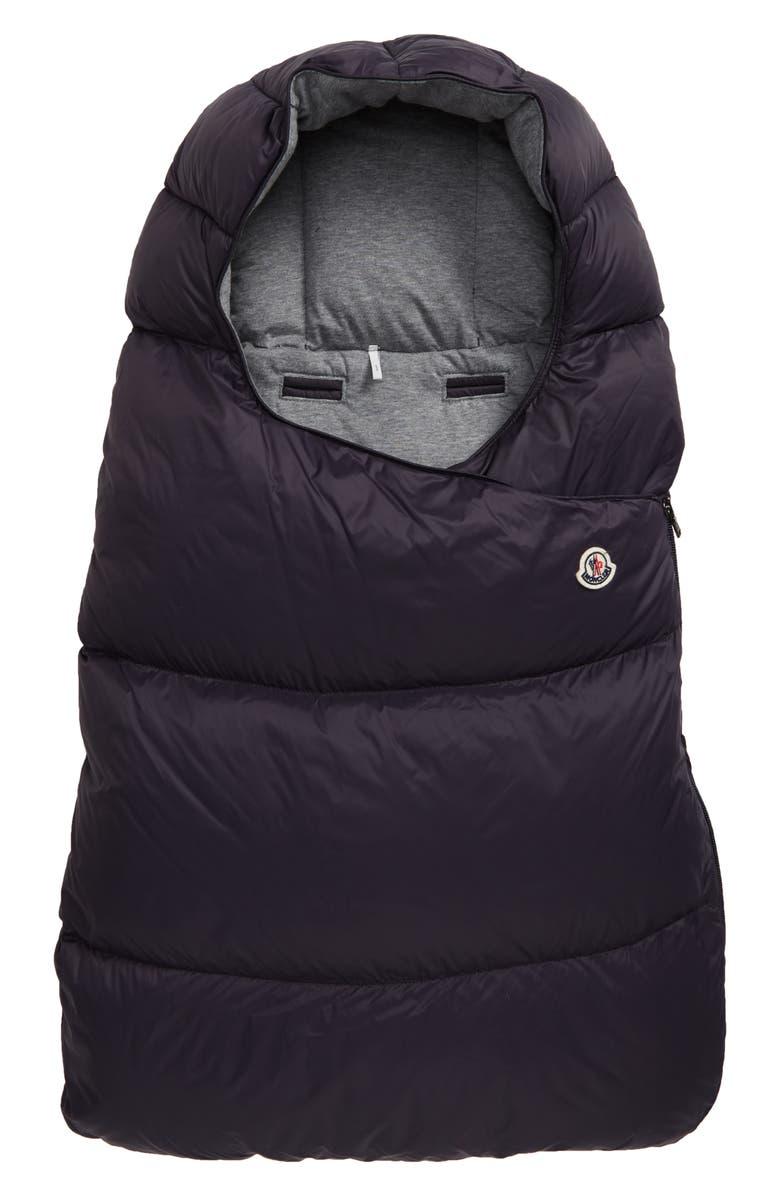 MONCLER Sacco Porta Sleeping Bag, Main, color, NAVY