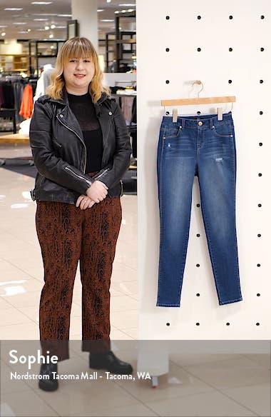RE:Denim High Waist Ankle Skinny Jeans, sales video thumbnail
