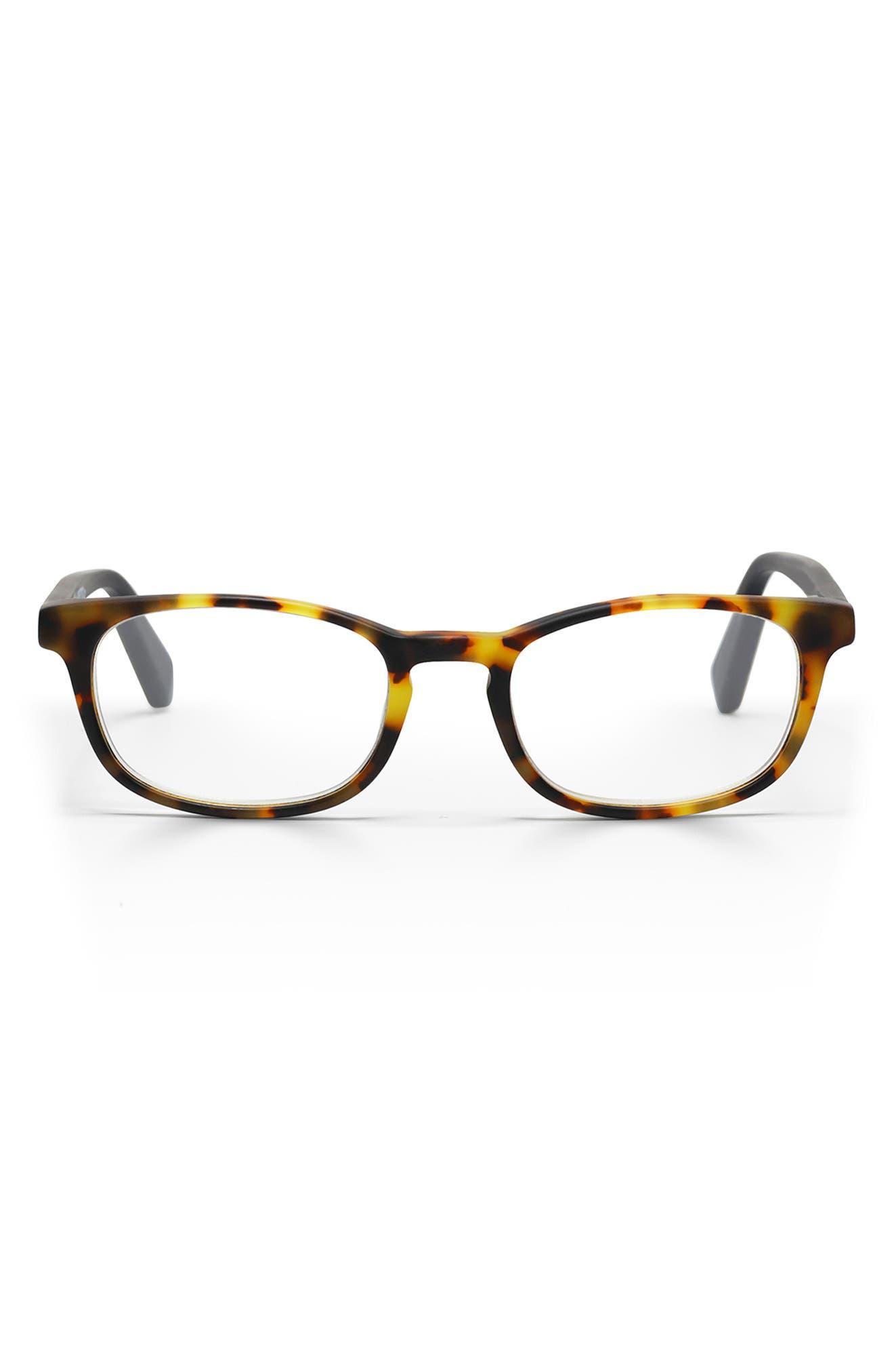 On Board 44mm Rectangular Reading Glasses