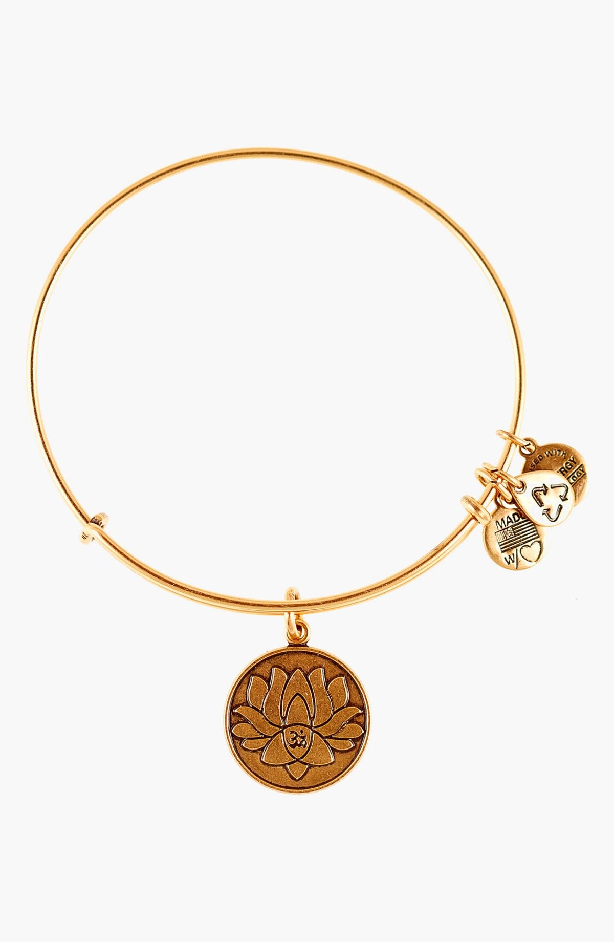 Alex And Ani Lotus Peace Petals Expandable Wire Bangle Nordstrom