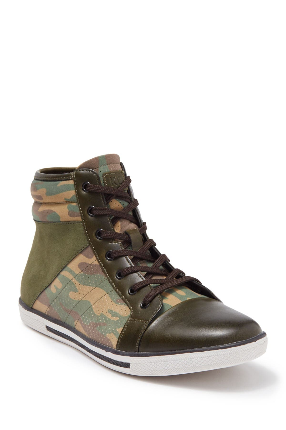 Image of Kenneth Cole Reaction Cesar High Top Sneaker