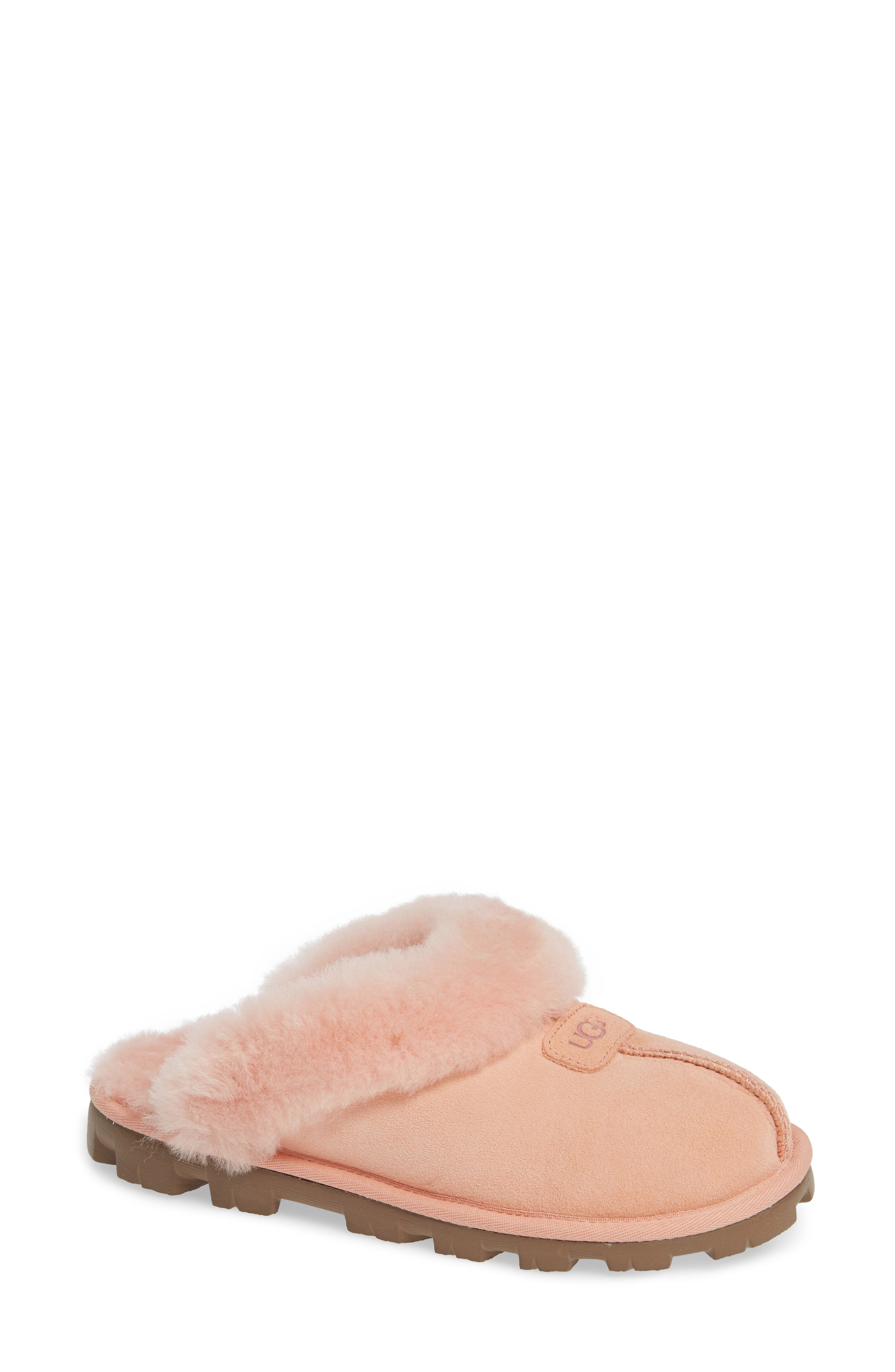 ,                             Genuine Shearling Slipper,                             Main thumbnail 93, color,                             653
