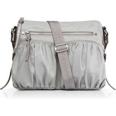 Mz Wallace Paige Crossbody Bag - Grey