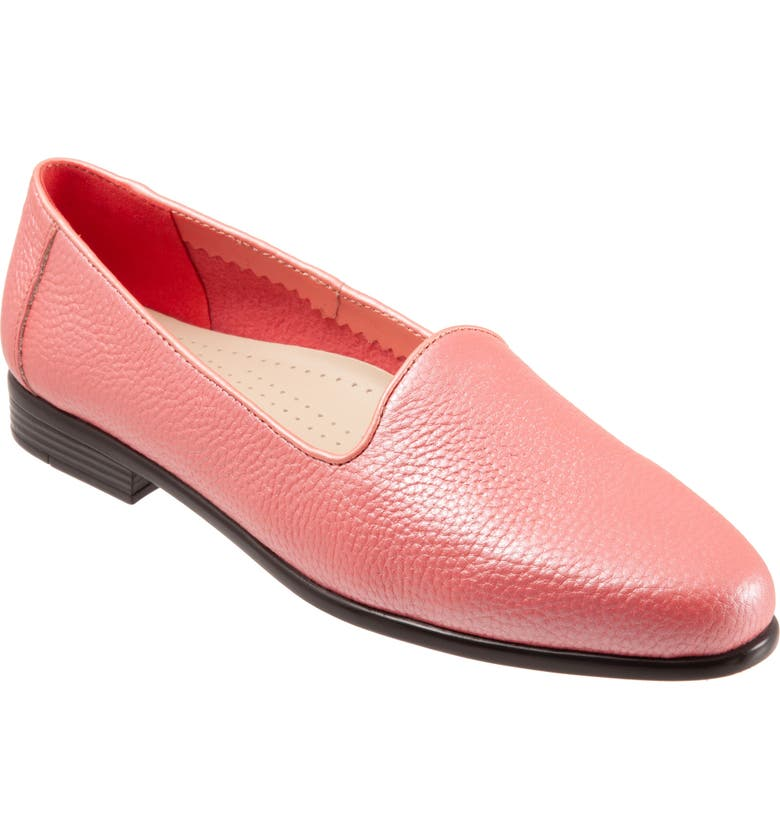 TROTTERS Liz Loafer, Main, color, CORAL LEATHER