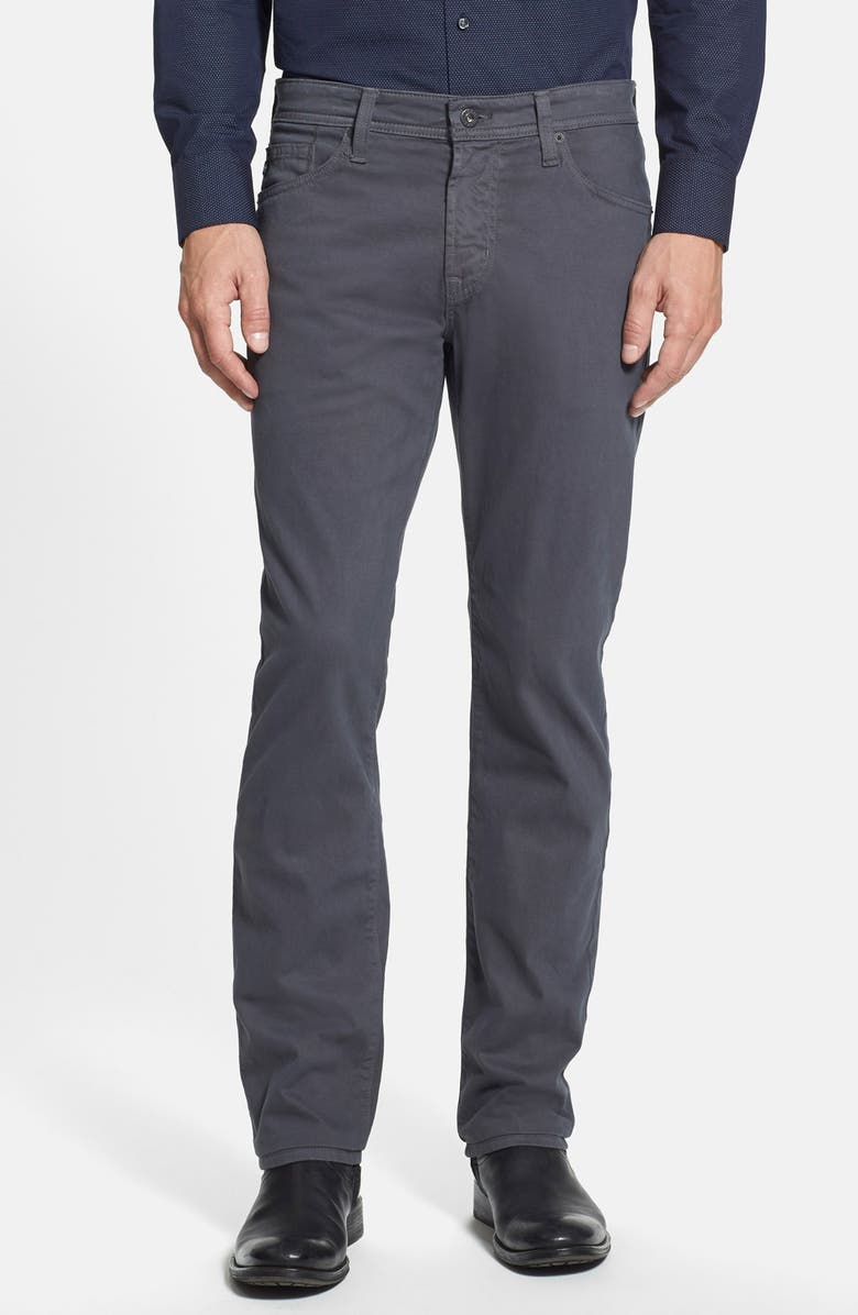 AG Graduate SUD Slim Straight Leg Pants, Main, color, CAVERN GREY