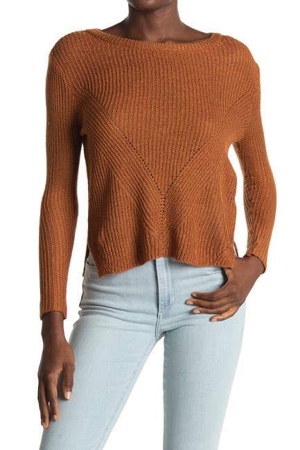 Image of Love by Design V Stitch Pullover Sweater