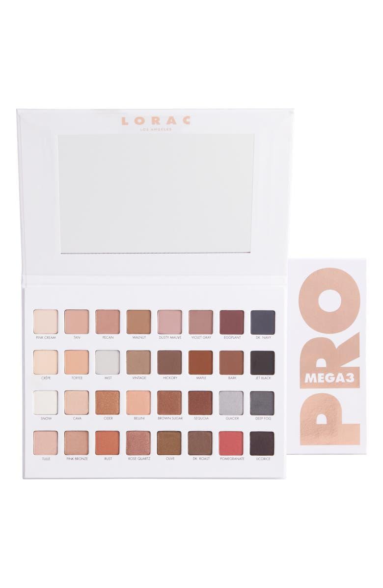 LORAC Mega PRO Palette 3, Main, color, 000