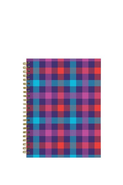 Image of TF Publishing 2021 Plaid About You Medium Weekly Monthly Planner