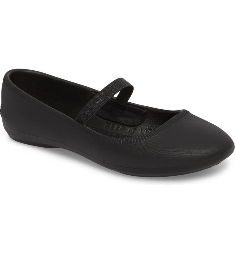 NATIVE SHOES Margot Vegan Mary Jane Flat, Main, color, 001