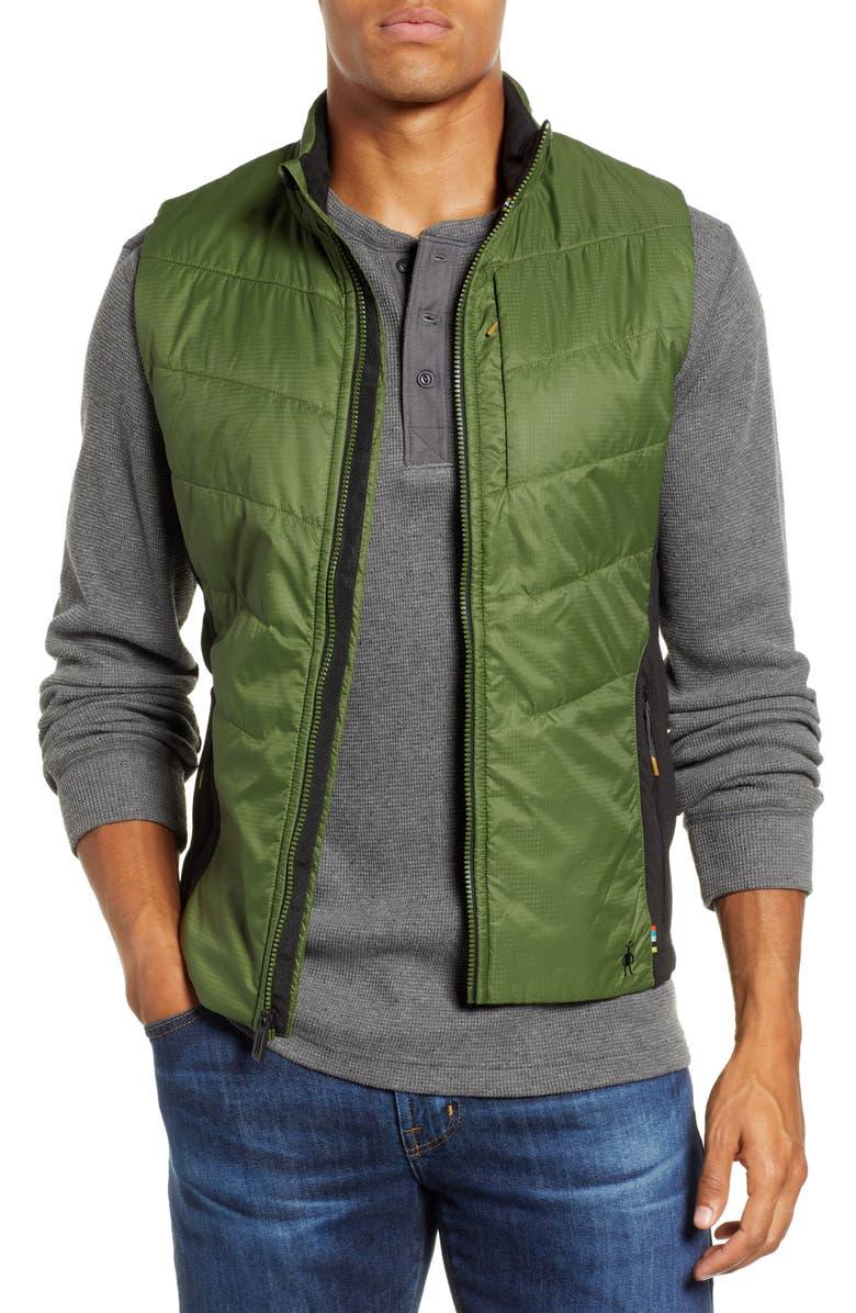 SMARTWOOL SmartLoft 60 Vest, Main, color, CHIVE