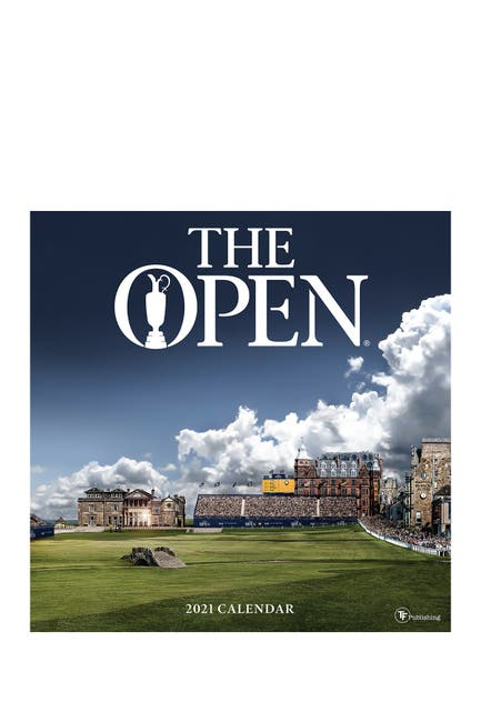 Image of TF Publishing 2021 The Open Wall Calendar