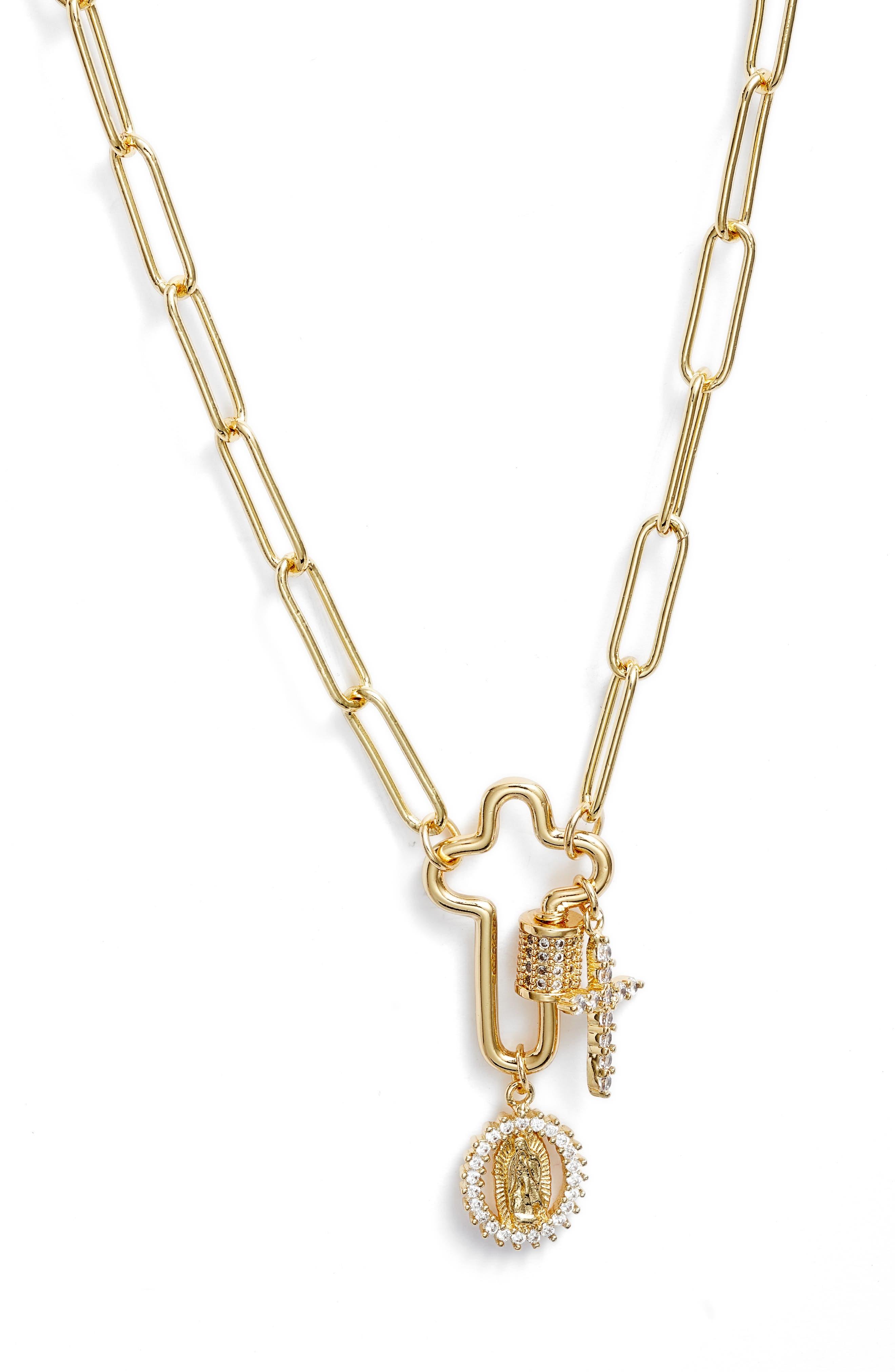 Keep Faith Pendant Necklace