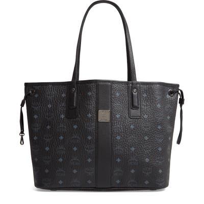 Mcm Medium Liz Reversible Shopper - Black