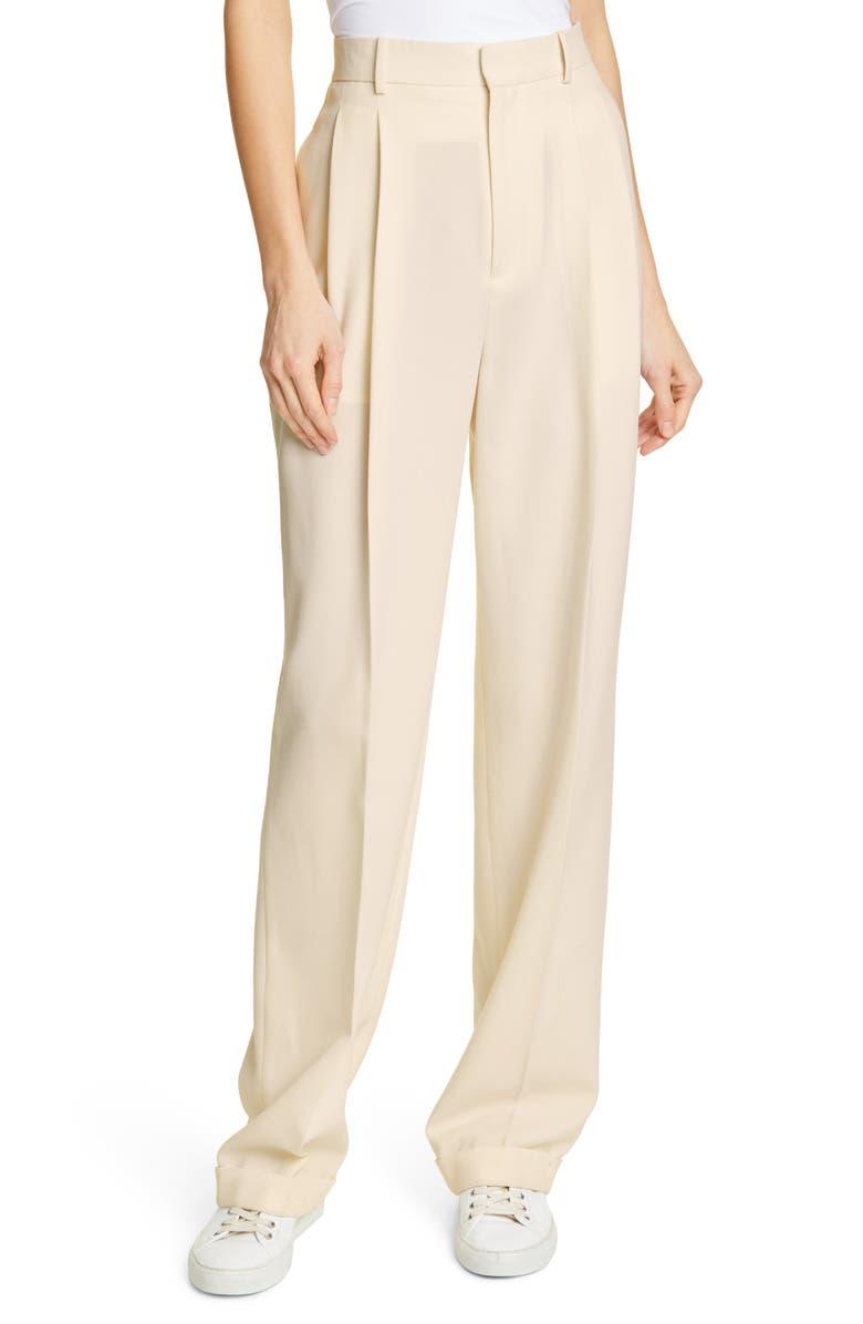 POLO RALPH LAUREN Relaxed Straight-Leg Pants, Main, color, 900