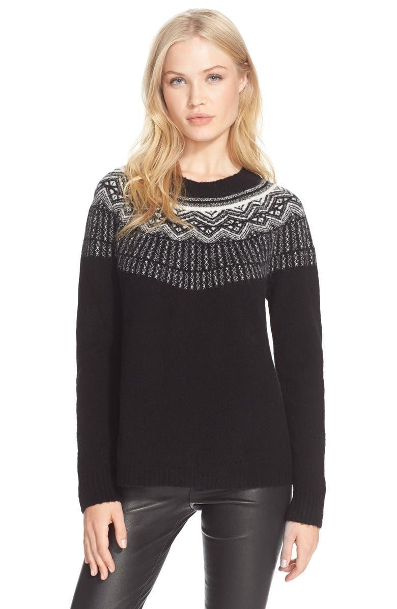 JOIE 'Jehannon' Wool Blend Sweater, Main, color, 001