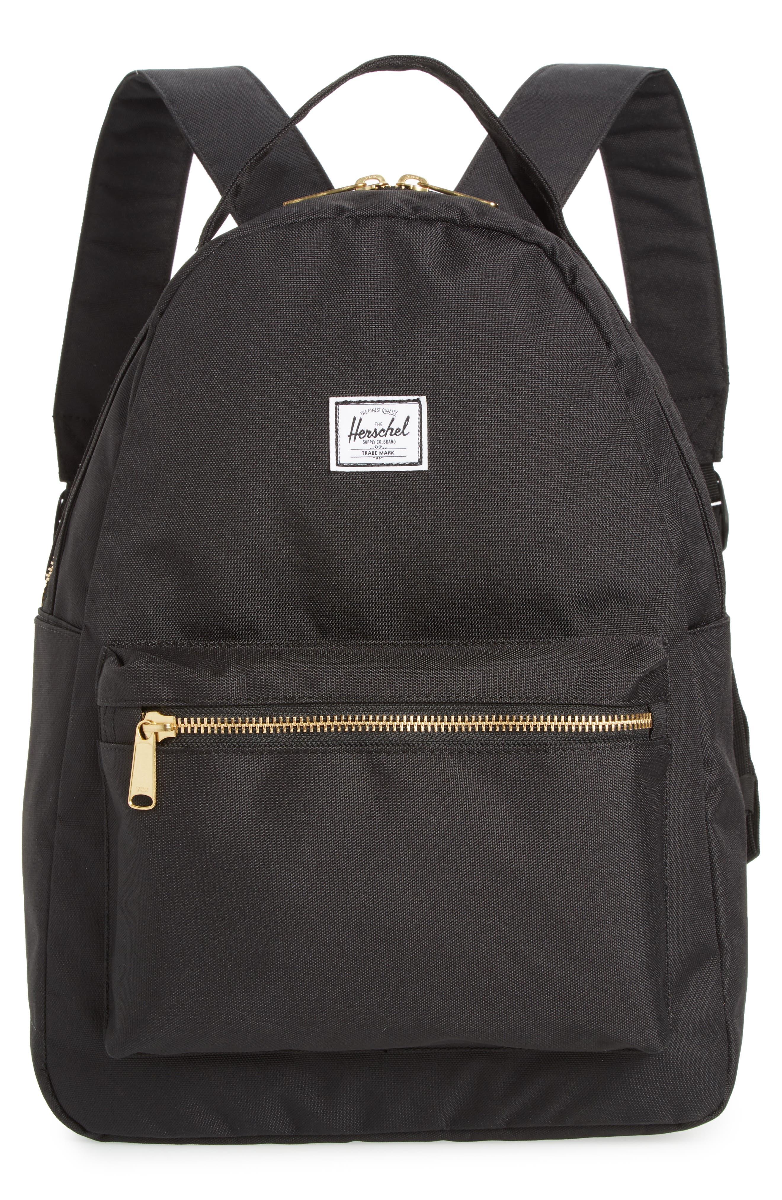 Nova Mid Volume Backpack, Main, color, BLACK