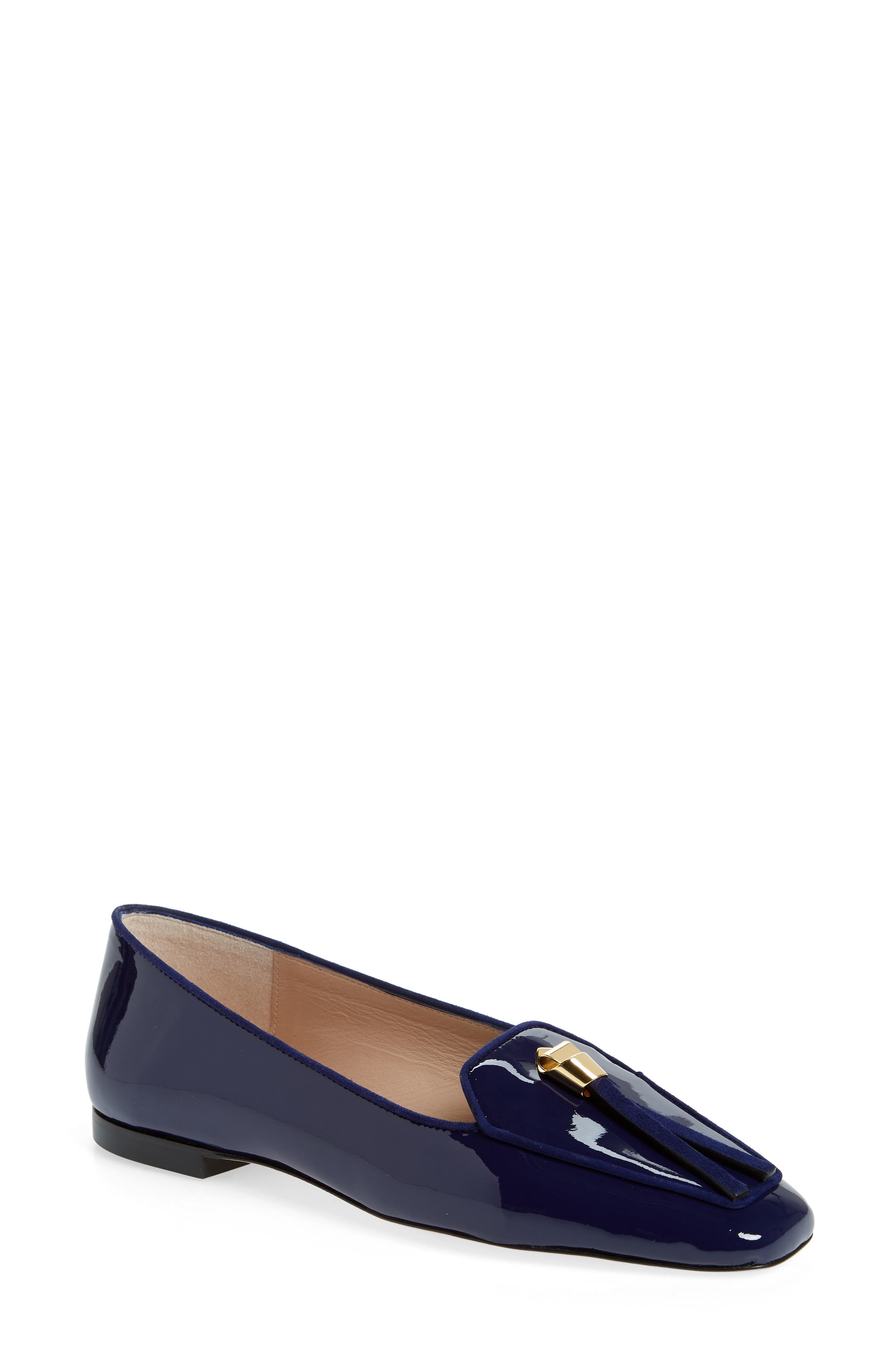 Stuart Weitzman Slipknot Loafer, Blue