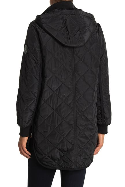Image of DKNY Zip Front Barn Quilt Jacket
