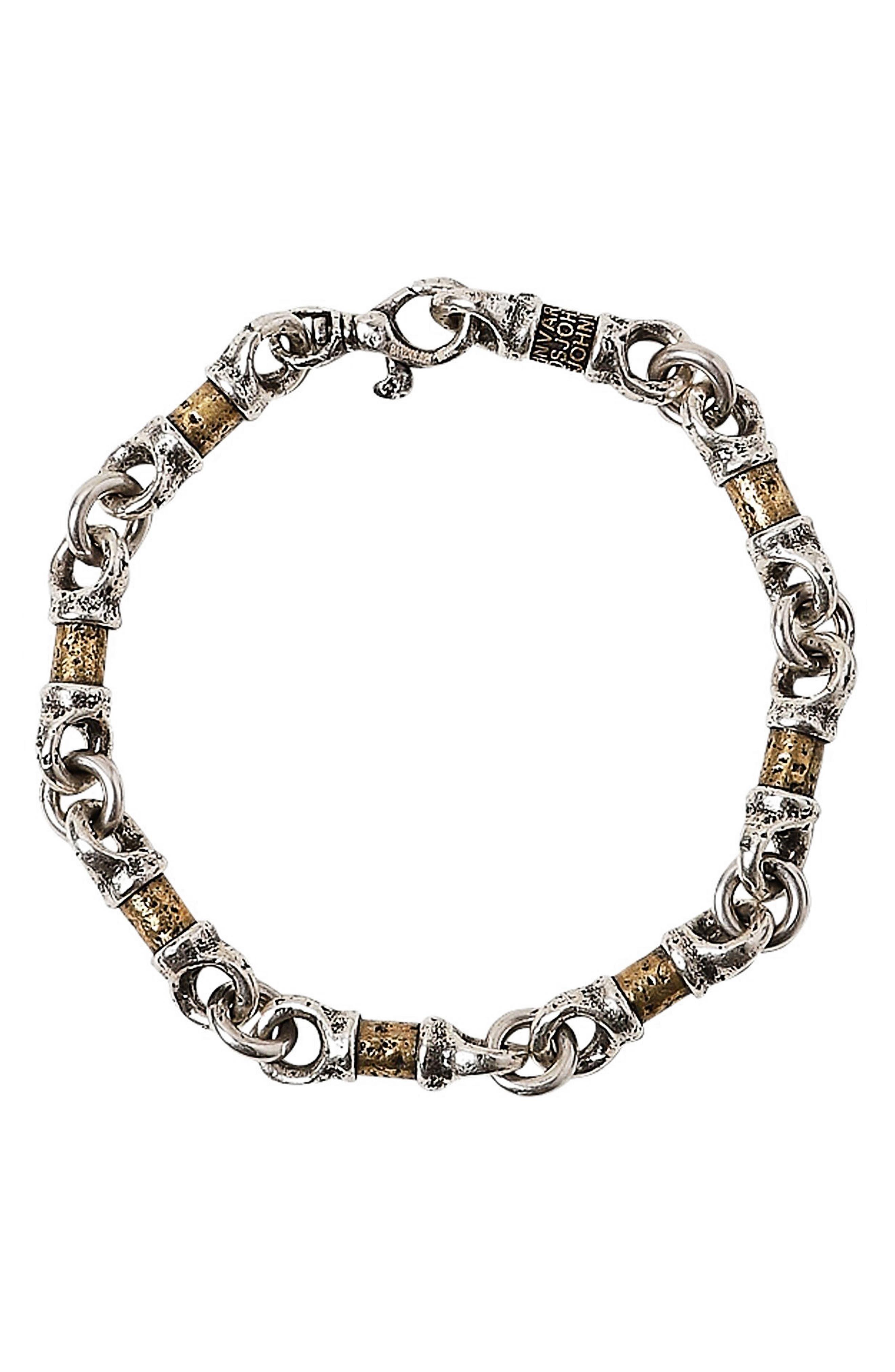 Women's John Varvatos Mixed Link Bracelet