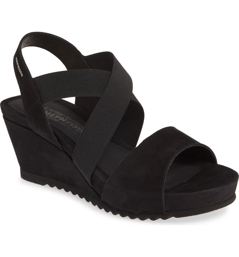 MEPHISTO Giuliana Wedge Sandal, Main, color, 002