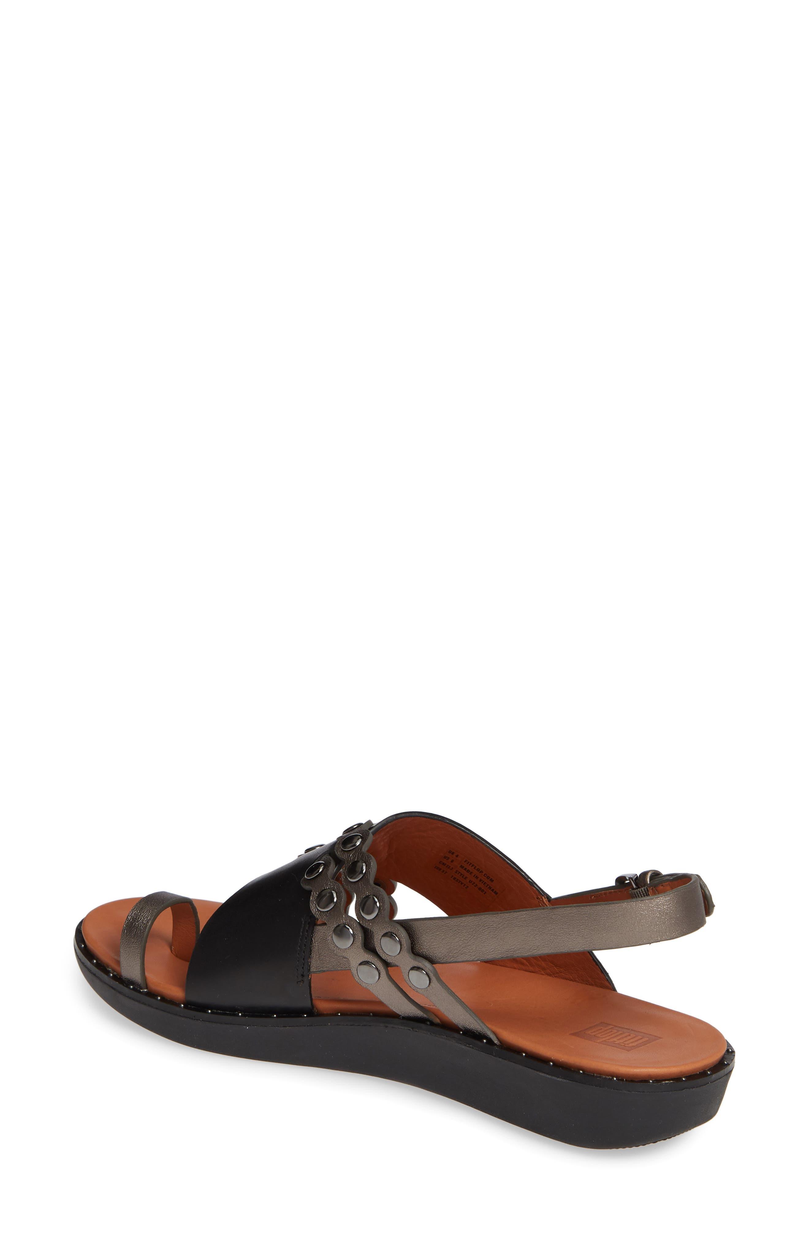 ,                             Scallop Embellished Sandal,                             Alternate thumbnail 2, color,                             001
