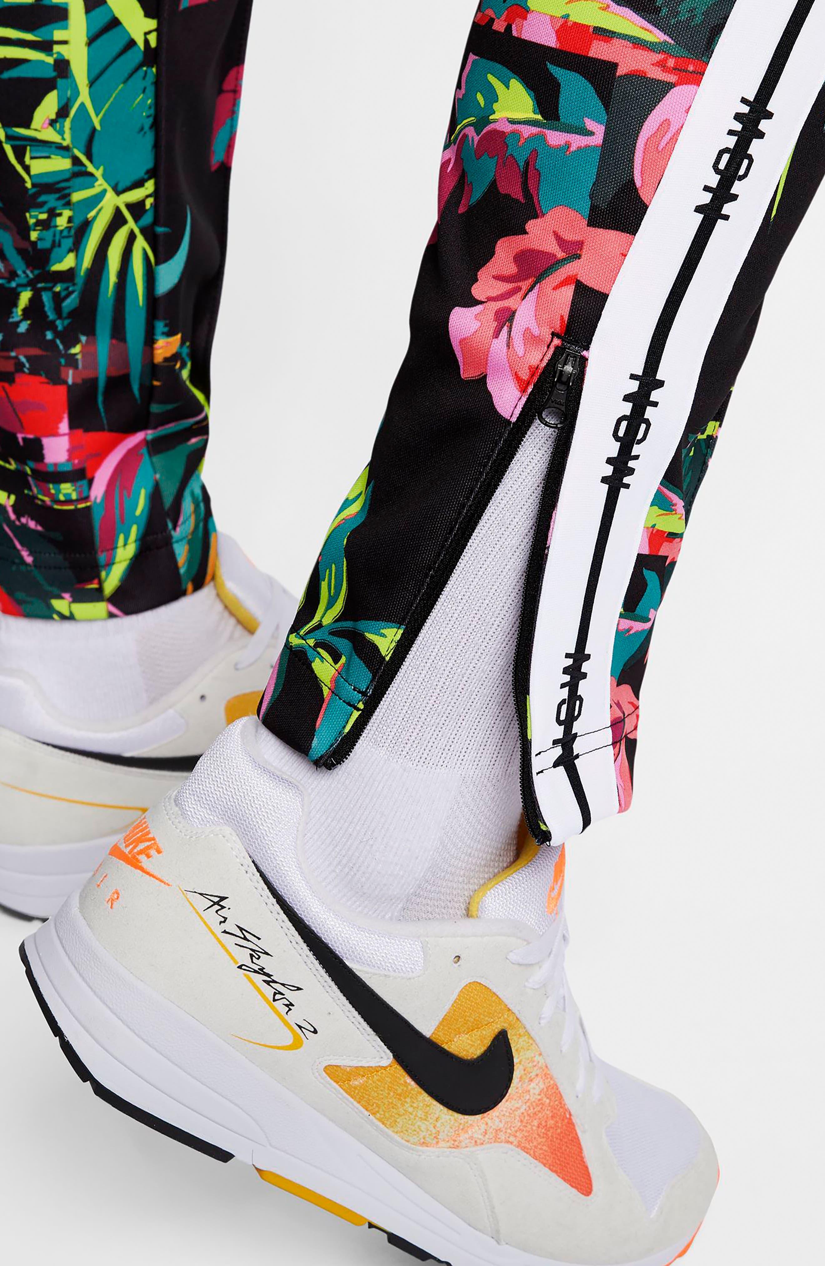 ,                             Sportswear NSW Track Pants,                             Alternate thumbnail 5, color,                             CYBER/ BLACK/ WHITE