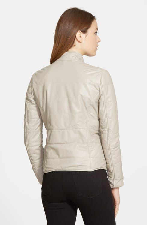 18c3d1f14 LaMarque Reversible Packable Leather Jacket | Nordstrom