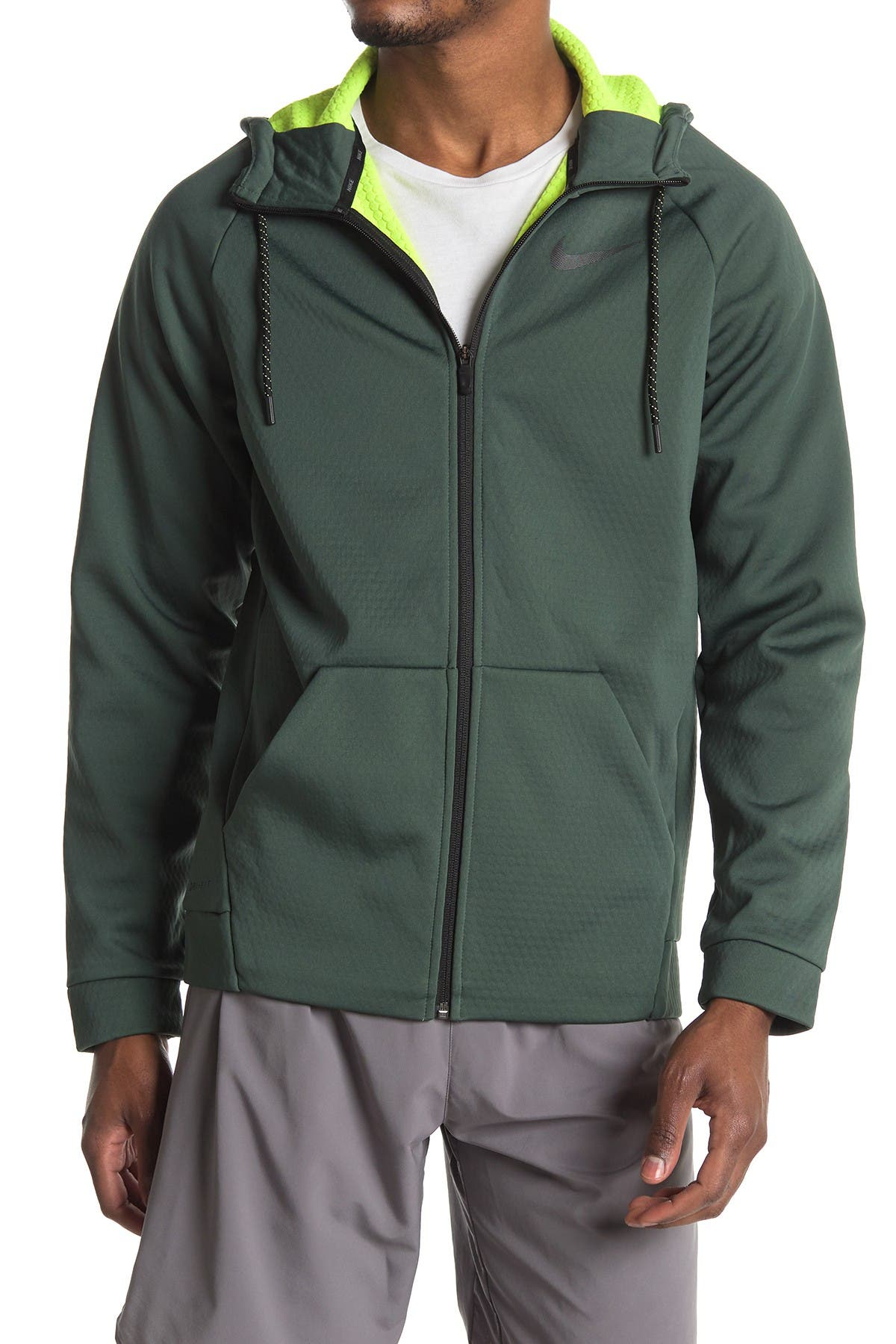 Image of Nike Therma Waffle Knit Zip Hoodie