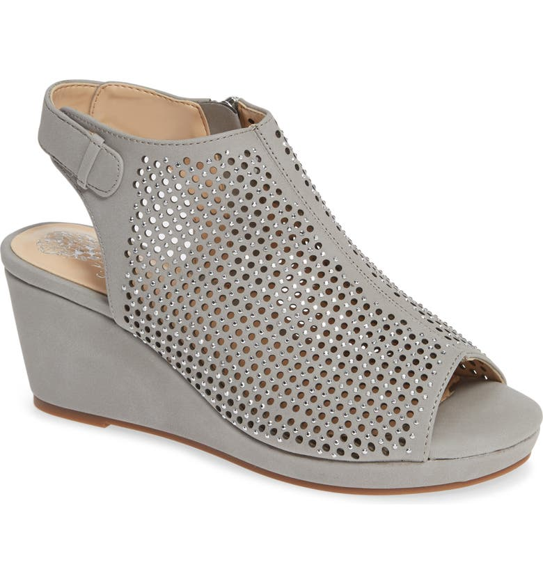 VINCE CAMUTO Oriana Wedge, Main, color, GREY
