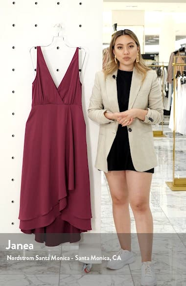 Alessia Sleeveless Midi Dress, sales video thumbnail