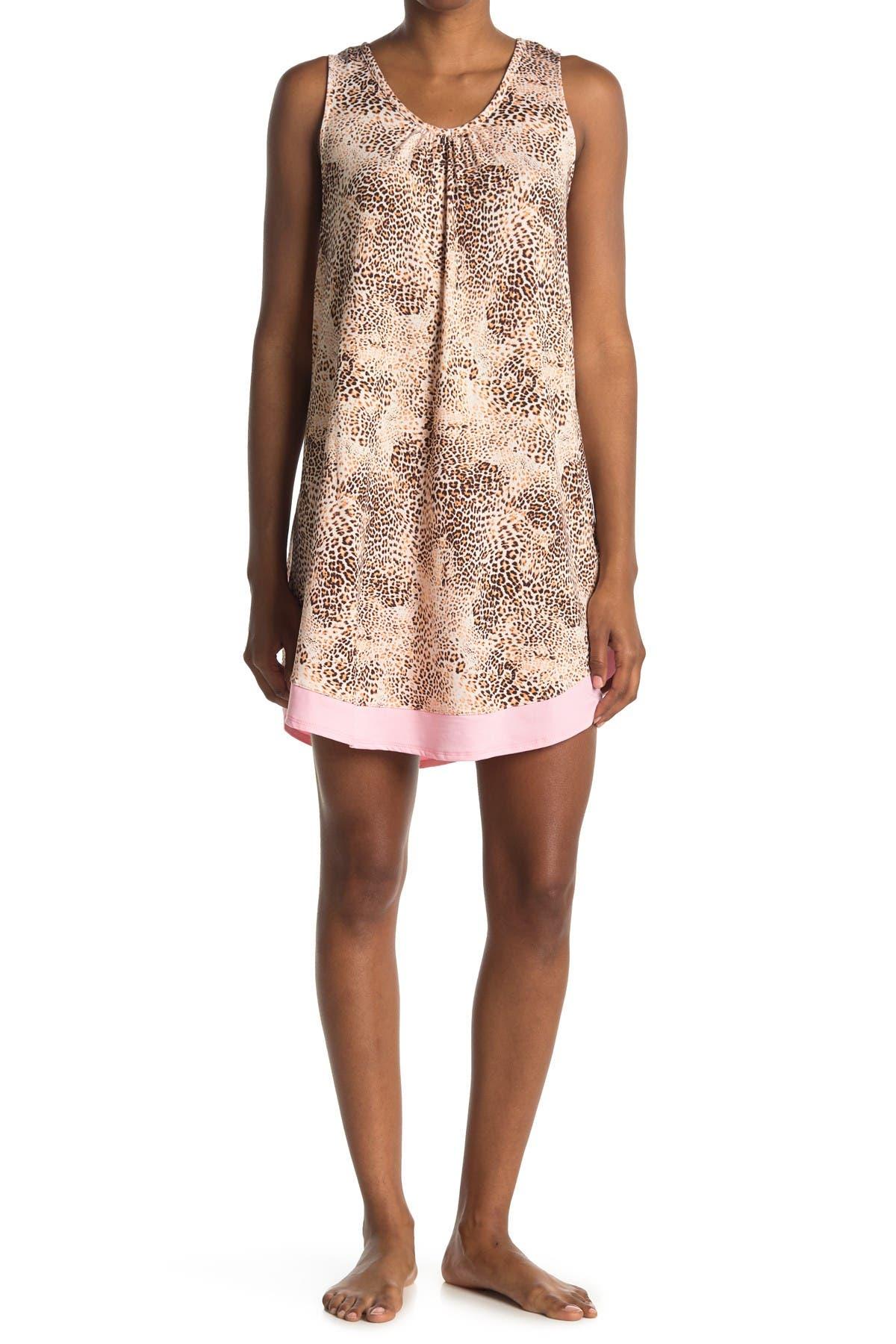 Image of Ellen Tracy Sleeveless Nightgown