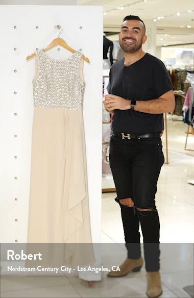 Sequin Chiffon Gown, sales video thumbnail