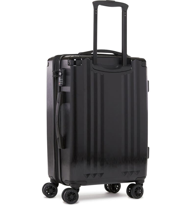 CALPAK Ambeur 22-Inch Rolling Spinner Carry-On, Main, color, BLACK