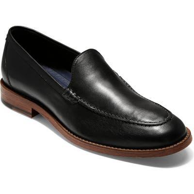 Cole Haan Feathercraft Grand Venetian Loafer- Black