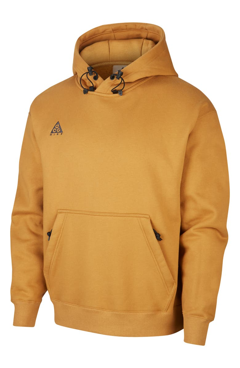 NIKE ACG Men's Pullover Hoodie, Main, color, WHEAT/ ANTHRACITE