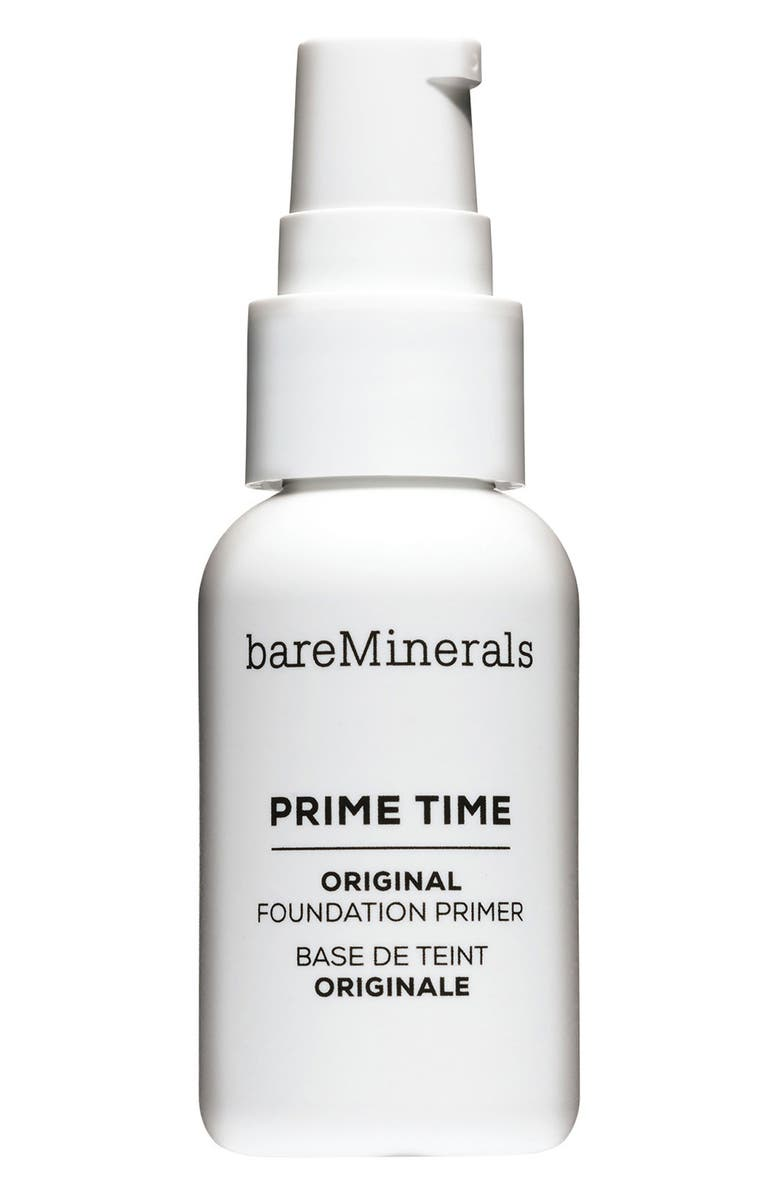 BAREMINERALS<SUP>®</SUP> Prime Time Original Foundation Primer, Main, color, NO COLOR