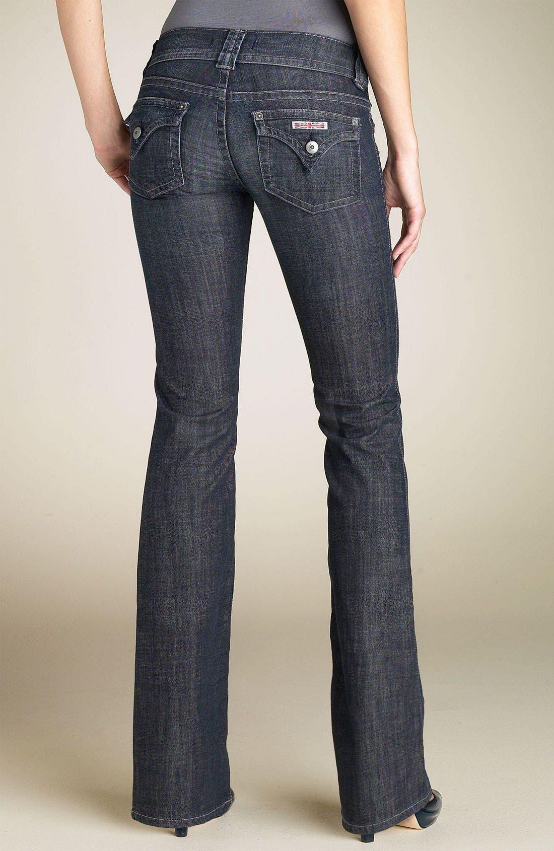 ,                             Signature Flap Pocket Bootcut Jeans,                             Alternate thumbnail 106, color,                             VDW